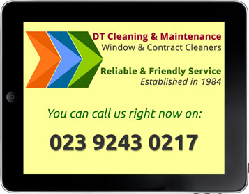 DT Cleaning Waterlooville Phone Us